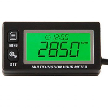 [macyskorea] SEARON Searon Multifunction Hour Meter Tachometer Voltmeter with Clock 2 & 4 /12376663
