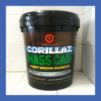 Gorillabz Gorillaz Mass Gain 15 Lbs Chocolate / 15lb gainer godzila gorila gorilabs gorilla lab labs