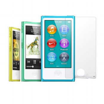 3x Clear LCD Film Screen Protector Guard Cover For iPod Nano 7 7th GEN