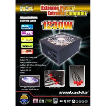 (Termurah) Power Supply Simbadda 1230  Watt   - Power Supply