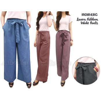 Celana Kulot Katun Supernova, Culottes Pants Cotton