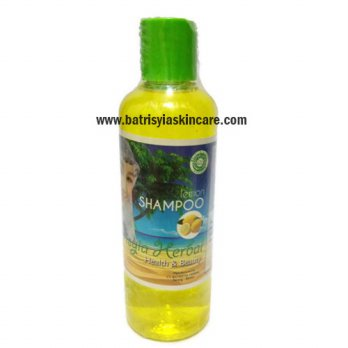 Shampo Lemon Batrisyia - Shampo Herbal Anti Ketombe