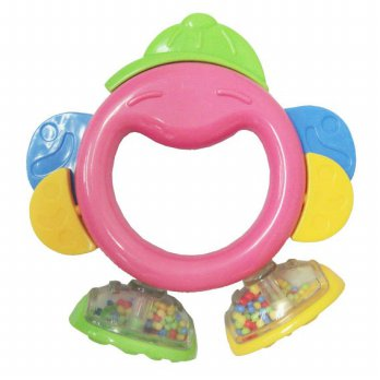 Mainan Bayi Water Teether Lucky Baby Aqua Fun Heart Combo 3in1