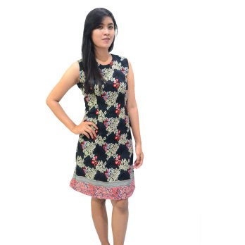 Dress Batik Pekalongan Halus Semi Sutra