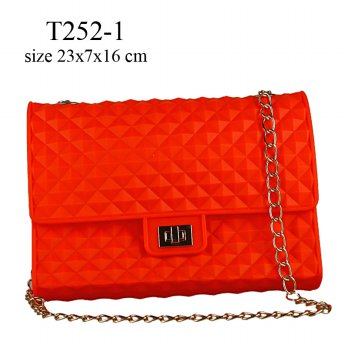 Clutch Candy Bag L Merah T252-1