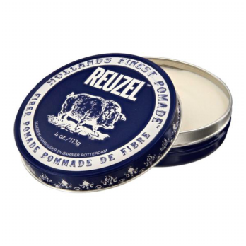 REUZEL FIBER POMADE STRONG PLIABLE HOLD WATERBASED 4OZ FREE SISIR SAKU