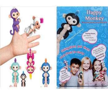 Mainan Fingerling Smart Happy Monkey