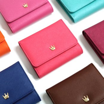 Korean Trendy Style Women Casual Pouch Bag Purse Wallet / Crown Wallet. D_heritage 1518381