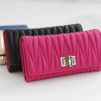 Korean Trendy Style Women Casual Pouch Bag Purse Wallet / (Omnia) leather wallet Sydney 1.56788 mil