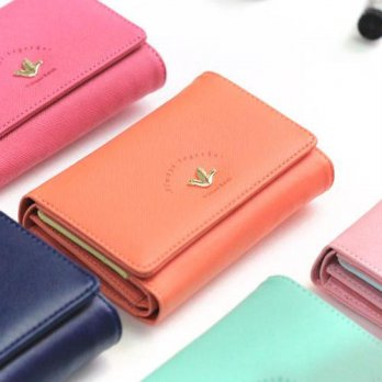 Korean Trendy Style Women Casual Pouch Bag Purse Wallet / 3-stage jungjigap ver.2 1563453