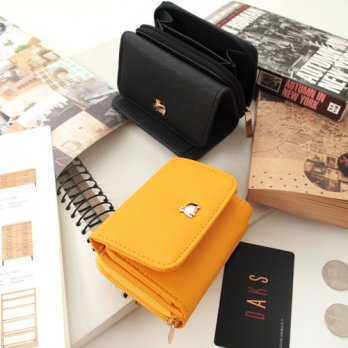 Korean Trendy Style Women Casual Pouch Bag Purse Wallet / CONI 3 Steps Wallet 1678636