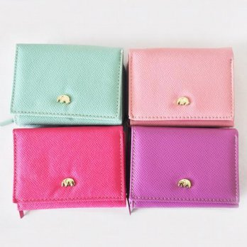 Korean Trendy Style Women Casual Pouch Bag Purse Wallet / 8000 3-stage mini wallet 854 1695971