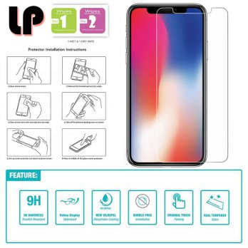 LP HD Tempered Glass iPhone XR