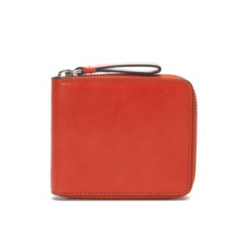 Korean Trendy Style Women Casual Pouch Bag Purse Wallet / ZIP WALLET ENNIA PRIMO ORANGE 1959682