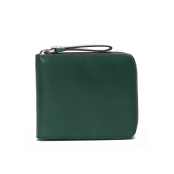 Korean Trendy Style Women Casual Pouch Bag Purse Wallet / ZIP WALLET ENNIA PRIMO GREEN 1959683