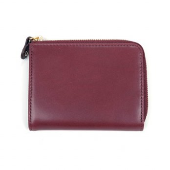 Korean Trendy Style Women Casual Pouch Bag Purse Wallet / (initial free) Italian calfskin zip walle