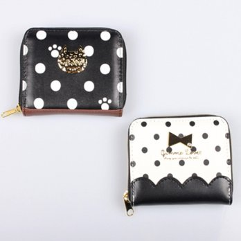 Korean Trendy Style Women Casual Pouch Bag Purse Wallet / TINY DOT two kinds of wallet 2011127