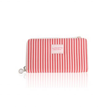 Korean Trendy Style Women Casual Pouch Bag Purse Wallet / Long _ Eco Red Sail Swan 2135556