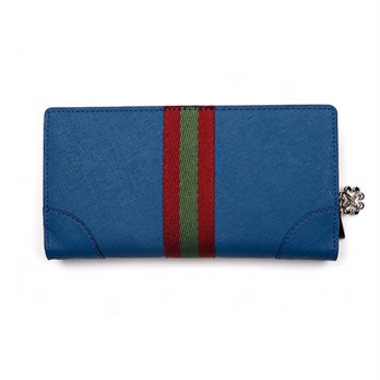 Korean Trendy Style Women Casual Pouch Bag Purse Wallet / Long _ blue blood ROCHELLE 2137274