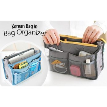 [TERMURAH] KOREAN BAG IN BAG ORGANIZER / DUAL BAG IN BAG
