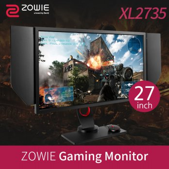 [BENQ] WQHD Wide Gaming 27inch Monitor XL2735 / 16:9 2560x1440 LED / designed by ZOWIE / gamer gamin