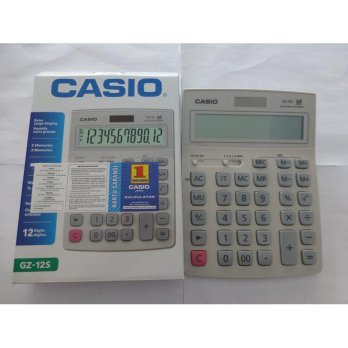 (Termurah) Kalkulator Casio GZ-12S Original
