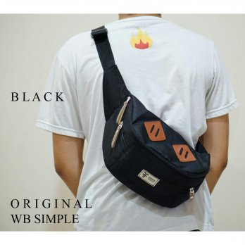 TAS SELEMPANG DISTRO SIMPLE WAIST BAG