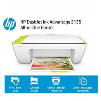 Printer HP 2135 Deskjet Ink Advantage All-in-One Printer Garansi Resmi