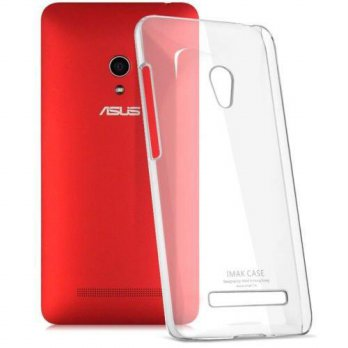 Imak Crystal II Ultra Thin Hard Case for Casing Cover Asus Zenfone 5 - Transparan