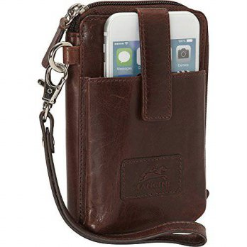 [Macyskorea] Mancini Leather Goods Cell Phone RFID Wallet (Brown) / 11429917