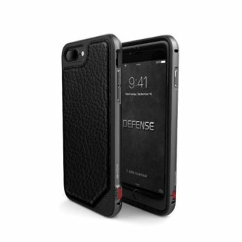 X Doria Defense Lux iPhone 7 Plus Black Leather