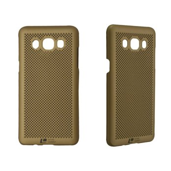 Loopee Air Hard Case for Samsung Galaxy J5 J510 2016 Casing Cover - Emas