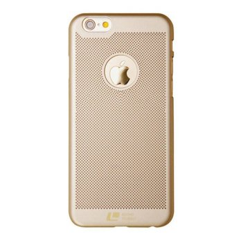 Loopee Woven Hard Case for Iphone 6+ Plus / 6s+ Plus Casing Cover - Emas