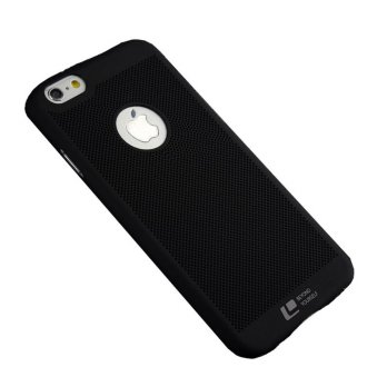Loopee Woven Hard Case for Iphone 6+ Plus / 6s+ Plus Casing Cover - Hitam
