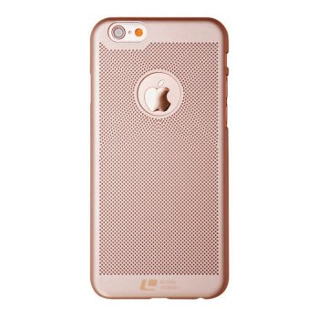 Loopee Woven Hard Case for Iphone 6+ Plus / 6s+ Plus Casing Cover - Rosegold