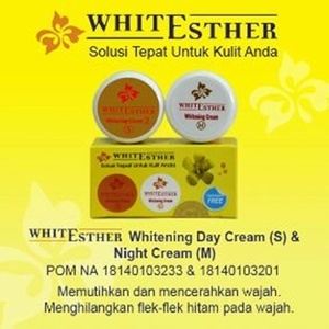 White Esther Whitening Cream SM BPOM Original