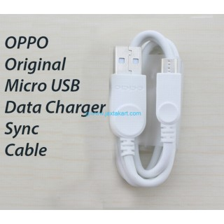 Oppo Cable Data Kabel Data Micro USB 100% Ori Original - White