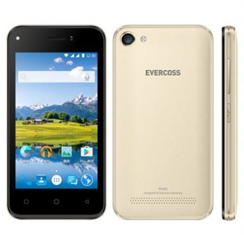 Smartphone Evercoss R40D Jump T3 LCD 4inch Quadcore RAM 512MB Dual Camera 5MP