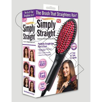 New Sisir Catok Rambut S'zentpeter The Lcd Brush Straihgntens Hair