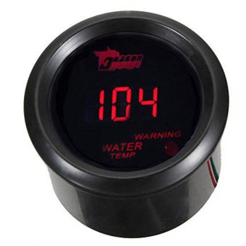 [macyskorea] E Support Car 2 52mm Digital Water Temp Gauge Red LED Fahrenheit F/12375995