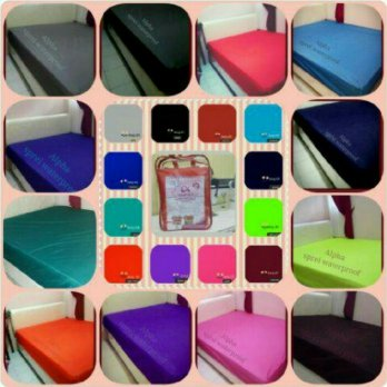 Alpha Sprei Waterproof Size 140x200 | Anti Air / Basah / Ompol | Bed Protector