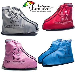 Distributor Jas sepatu cover shoes mantel hujan anti air Funcover cosh