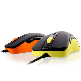 (Termurah) Gaming Mouse Cougar 300M Orange / Yellow - Optical gaming Mouse