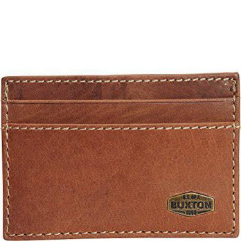 [Macyskorea] Buxton Expedition RFID Front Pocket Get-a-Way Wallet (Saddle) / 11428091
