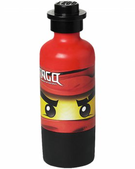LEGO Drinking Bottle Theme Bright Red (Ninjago)