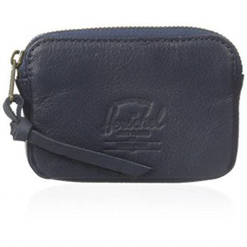 [Macyskorea] Herschel Supply Co. Mens Oxford Pouch Leather, Navy Pebble, One Size / 11479131