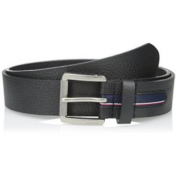 [Macyskorea] Tommy Hilfiger Mens 38 Mm Gnarled Buckle With Signature Stripe Ribbon Inlay B / 11504317
