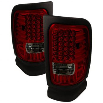 [macyskorea] Spyder Auto ALT-ON-DRAM94-LED-RS Dodge RAM 1500/2500/3500 Red/Smoke LED Tail /12375906