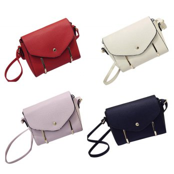 Fashion Women Leather Handbag Cross Body Single Shoulder Phone Square Bag