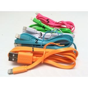 Kabel Data Hippo Caby iPhone 5/6 & iPad 4/5/mini 5 warna | ORIGINAL